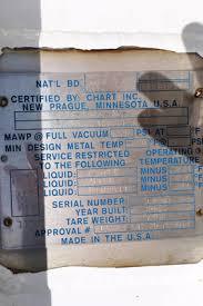 Used Chart Industries Inc Vs 1500 Nc 250 1500 Gallon