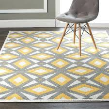 yellow and gray rug modern kaleidoscope indoor outdoor rug a retro modern kaleidoscope pattern brings vibrant yellow and gray rug
