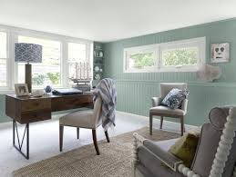 trendy home office. Astounding Dainty Blue Walls Nonsensical Home Office Trendy