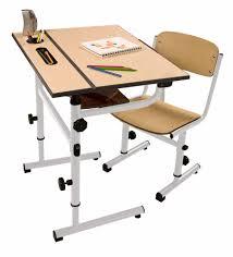 wooden top kids desk featuring modern kids study