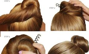 Hairstyle Yourself do it yourself bubble bun hairstyle 2minute pictorial tutorials 8131 by stevesalt.us