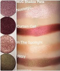 makeup geek individual shadow review swatches in nostalgic curn call in the spotlight