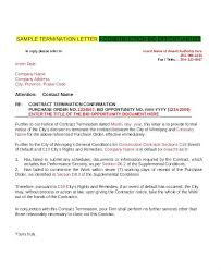 Apartment Residential Lease Termination Letter Template Written ...