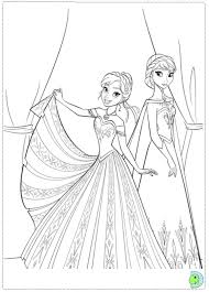 Small Picture frozen coloring pages for kids