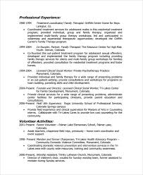 Example Of Social Work Resumes Social Worker Resume Smlf Resume Template Resume Summary