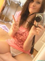 Young sexy brunette teen