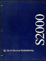 2001 honda s2000 electrical troubleshooting manual wiring diagram image is loading 2001 honda s2000 electrical troubleshooting manual wiring diagram