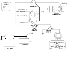 wiring diagram for volt tractor wiring image ammeter not showing charge on 6 volt system farmall cub on wiring diagram for 6 volt