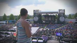 Amy The Face Of Myindy Tv Has The Full Concert Experience At White River State Park