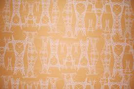 wallpaper for office walls. Pylons Pattern Wallpaper For Office Walls