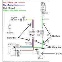 wiring diagram for gm alternator wiring diagrams and schematics gm 4 wire alternator wiring diagram