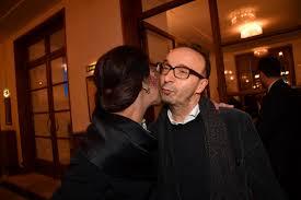 Roberto Benigni e Nicoletta Braschi alla prima di Orfeo ed Euridice. Foto  di Pizzi - Formiche.net