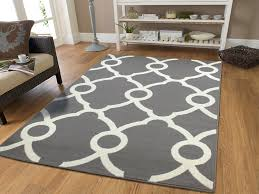 white modern rug. amazon.com: large moroccan style modern rug for living room white gray 8x11 rugs contemporary grey area 8x10 clearance under 100: kitchen \u0026