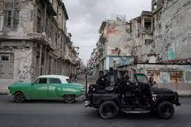 The Cuban Crackdown