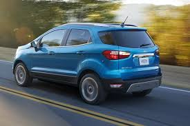 2018 Ford Ecosport How Does Fords Newest Suv Size Up To