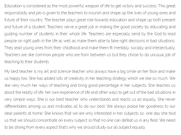 english essay for teachers day best 25 essay on teachers day ideas essay on my