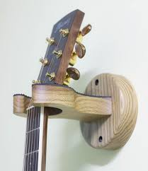 acoustic guitar wall mount hanger made