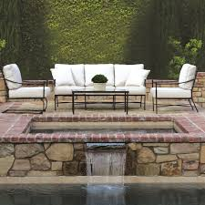 Sunset west provence deep sunbrella seating group with cushions reviews wayfair