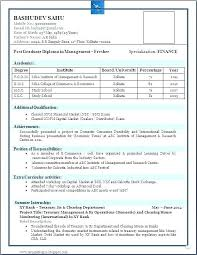 Resume Format Word File Download New Simple Resume Format In Word