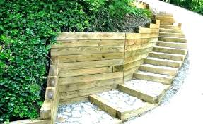 timber retaining wall design landscape timber design ideas timber retaining wall design landscape timber ideas landscape