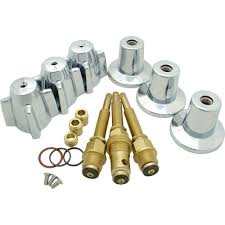 tub and shower rebuild kit for central brass faucets in chrome