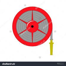 American Fire Hose And Cabinet Stock Images Similar To Id 370093499 Fire Hose Vector Icon