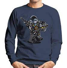 Cloud City 7 G I Joe Ninjago Cole Men's Sweatshirt: Amazon.de: Bekleidung
