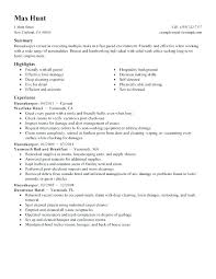 Resume For Housekeeping Job Best of Housekeeper Resume Objective Hotel Housekeeping Manager Resume
