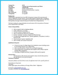 Bank Teller Resume No Experience Awful Sample Tellerme Jobs Lead Bank No Experience Cover Letter 22
