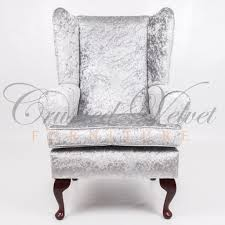 crushed velvet furniture  sofas beds chairs cushions