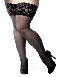 plus size thigh high socks plus size lace stay up thigh high stockings 2x 5x black red at