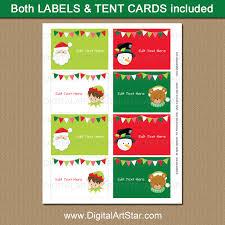 Cute Christmas Ideas Kids Christmas Labels