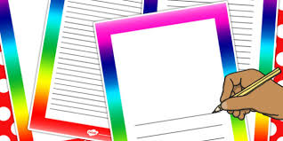 Rainbow Page Borders Rainbow Page Borders Display Border