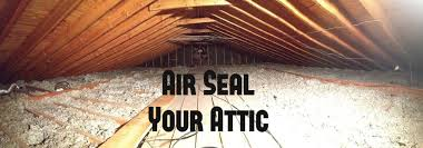 picture of air seal your attic for energy savings