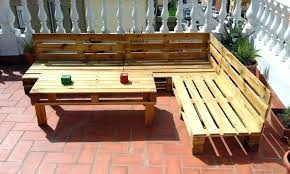 l shaped outdoor furniture awesome couch build pallet set bar egg s