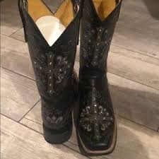 Cavender S By Old Gringo Square Toe Cross Boots 9b