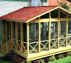 building a screened in porch screen room plans diy screen porch under deck