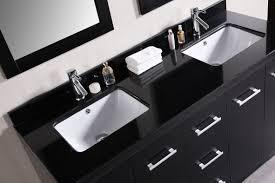double sink contemporary bathroom vanity set. set cosmo 60\ double sink contemporary bathroom vanity