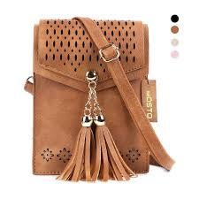 cross seosto leather shoulder handbag
