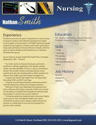 Nursing Resume Template Free Jmckell Com