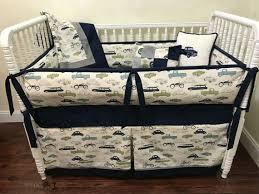 finn vintage cars crib bedding