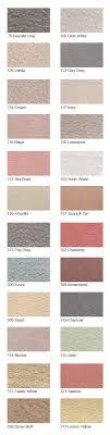Stucco Color Chart