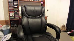 Lazboy black Executive Office Chair Review - YouTube