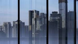 city window from outside. Plain From High Rise City Sunset Looking Stock Footage Video 100 Royaltyfree  5965964  Shutterstock Intended Window From Outside R