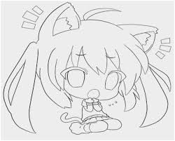 Anime Cat Coloring Pages Lovely 14 Pics Cute Anime Cat Girls