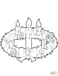 Small Picture Download Coloring Pages Wreath Coloring Page Wreath Coloring