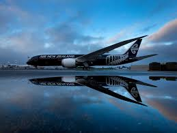 Image result for Black 787-9 New Zealand