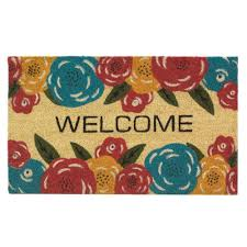 Doormat Outside, 18x30 Coir And Pvc Modern Welcome Mats For Front ...