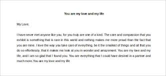 You are My Love and My Life Letter from Heart