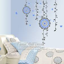 on flower wall art for nursery with flower wall decals tree vinyl wall decals by cuma wall decals on